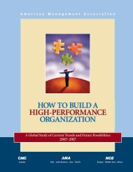 HOW TO BUILD A HIGH-PERFORMANCE ORGANIZATION