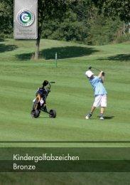 Kindergolfabzeichen Bronze - Golfclub Rheinblick
