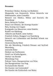 Personen: Primislaus Ottokar, Koenig von Boehmen ... - BookRix