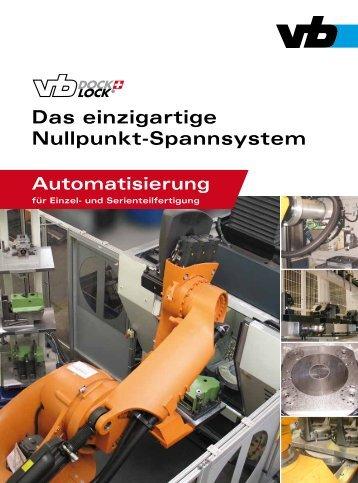 Das einzigartige Nullpunkt-Spannsystem - Vischer & Bolli AG