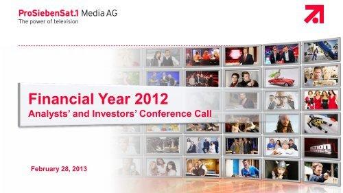 Financial Year 2012
