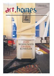 Projekt-Zeitung Deutsch/Englisch - Munich 2011 - art homes