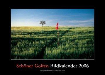 Schöner Golfen Bildkalender 2006