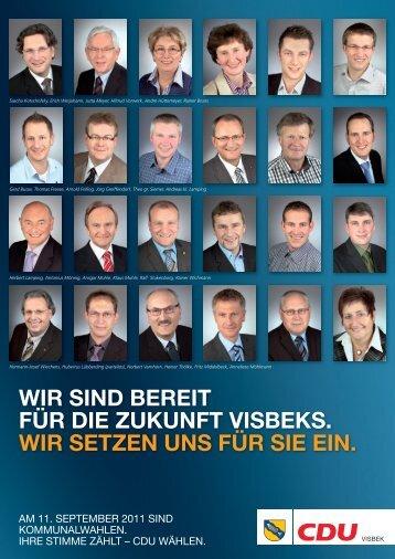 flyer DINA4_110601.indd - CDU Gemeindeverband Visbek