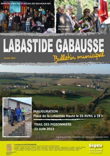 Bulletin municipal - Communauté de communes du Ségala Carmausin