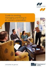 Guide to owning, managing and living in an owners corporation