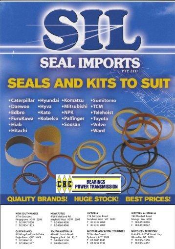 SIL Hydraulic Seals