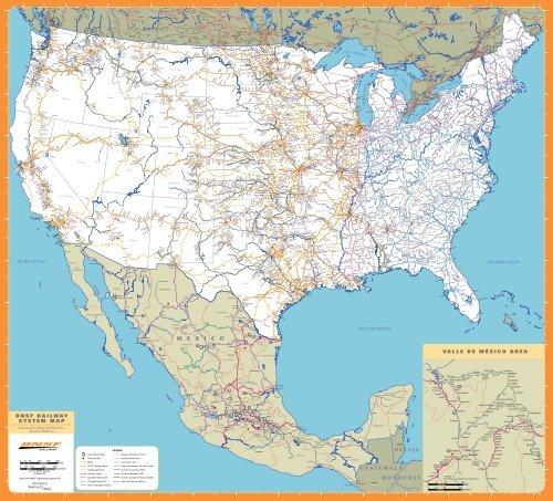 Mexico Map Bnsf Com