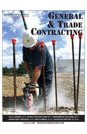 General & Trade Contracting - Daily Commercial News