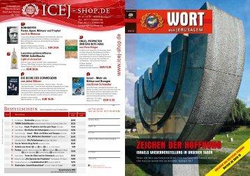 ZEICHEN DER HOFFNUNG - ICEJ - International Christian ...