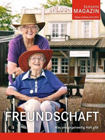 PDF Kursana Magazin Winter/Frühling 2012/2013 - Dussmann Group