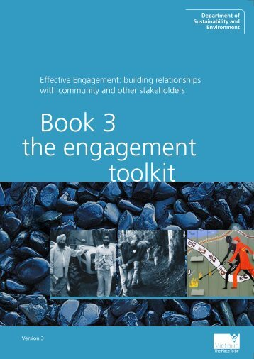 Book 3 - The Engagement Toolkit - Department of Sustainability and ...