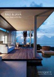 Bali & Java - Elegant Resorts and Villas