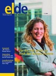 Für die FDP greift sie nach den Europa-Sternen Für ... - Elde Online