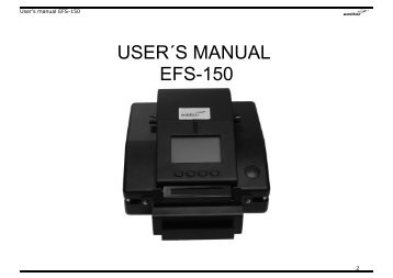 EFS-150 Splicer English - Emitor