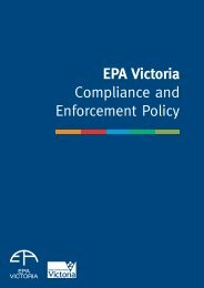 EPA Victoria Compliance and Enforcement Policy