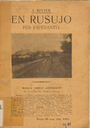 En Rusujo per Esperanto