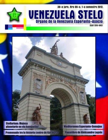 Venezuela Stelo N-ro 89 - Esperanto-Venezuela | Esperanto en ...