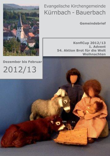 Download - Evang. Kirchengemeinde Kürnbach und Bauerbach