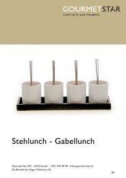 Stehlunch - Gourmet Star