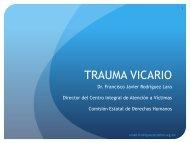 trauma vicario - Comisión Estatal de Derechos Humanos. Nuevo León