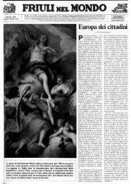 FRIULI NEL MON Kf - Ente Friuli nel Mondo