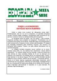Elŝuti la gazetan numeron ĉe gazetejo.org (pezo - La Esperanta ...