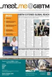 GIBTM EXTENDS GLOBAL REACH INSIDE