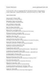 19 Seiten zum Download (pdf) - Gisela Weimann