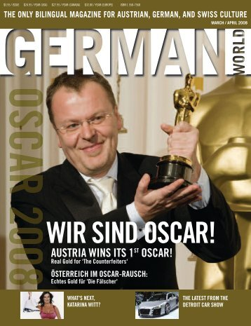 Mar/Apr 2008 - German World Magazine
