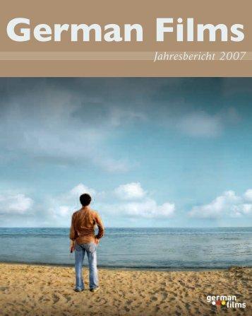 Jahresbericht 2007 - German Cinema