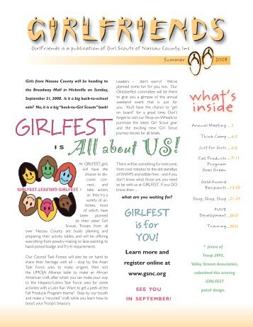 I S All about US! - Girl Scouts of Nassau County