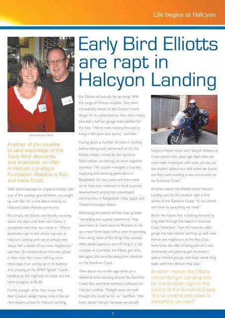 EARLY EARLY - Halcyon