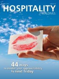 Behavior Accepted - Hospitality Maldives