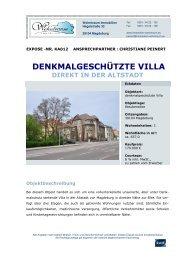 DENKMALGESCHÜTZTE VILLA - immobilien-wohntraum.eu