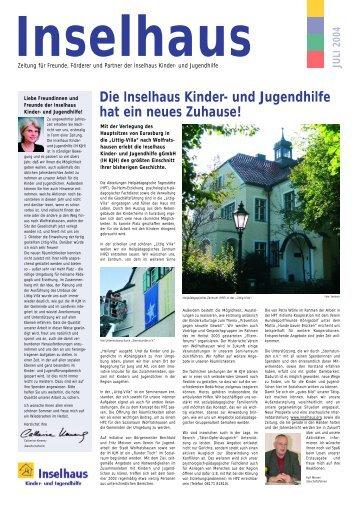 Ausgabe Juli 2004 - Inselhaus Kinder