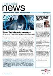 Corporate News 2-2010 - PDF - Groupe Mutuel