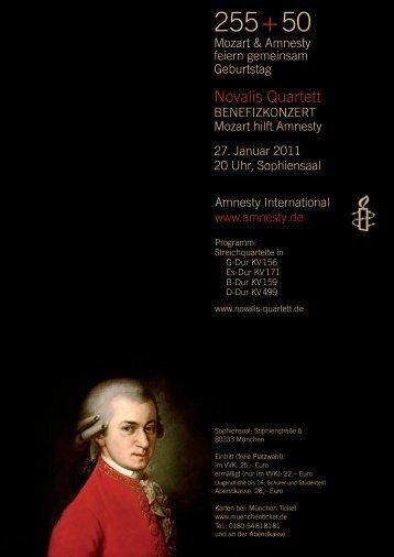 Mozart hilft Amnesty - Khane-Iran