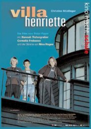 Peter Payer Villa Henriette - Kino macht Schule