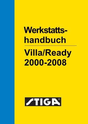 Werkstatts- Villa/Ready 2000-2008 handbuch