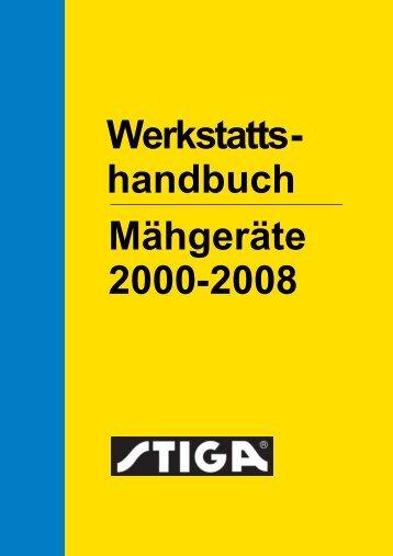 Werkstattshandbuch Mähgeräte 2000-2008