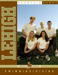 Swimming/diving - lehighsport - Lehigh University Athletics