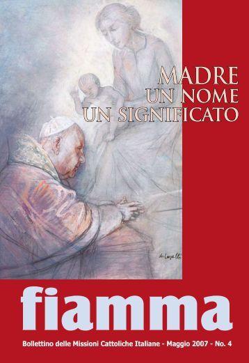 04 • 2007 - Missioni cattoliche di lingua italiana