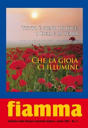 03 • 2007 - Missioni cattoliche di lingua italiana