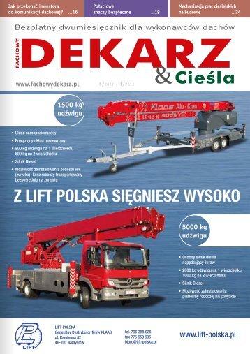 Fachowy Dekarz & Cieśla 6/2012-1/2013