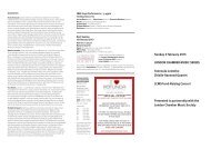 Read Programme Notes - London Chamber Music Society