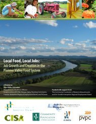Local Food, Local Jobs: