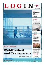 Login 1-2009 - PDF - Groupe Mutuel