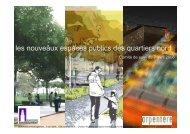 les nouveaux espaces publics des quartiers nord