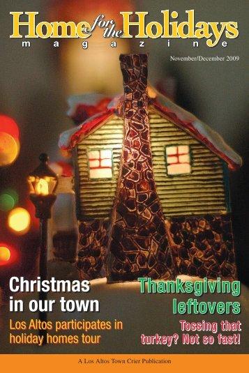 Home for the Holidays - Los Altos Town Crier